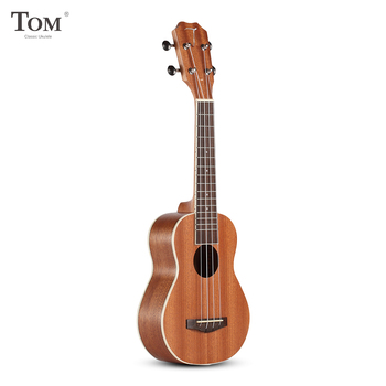 TOM TUS-200B Acoustic Concert Soprano Ukulele with Carrying Bag Music Gifts Guitar 4 Strings Sapele Rosewood Musical Instruments