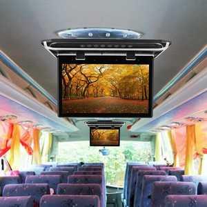 "Image 4 - 15.6 ""واسعة HDMI سقف السيارة شاشة تقوم بالقلب للأسفل سقف جبل لاعب سقف جبل شاشة تقوم بالقلب للأسفل 1920*1080"