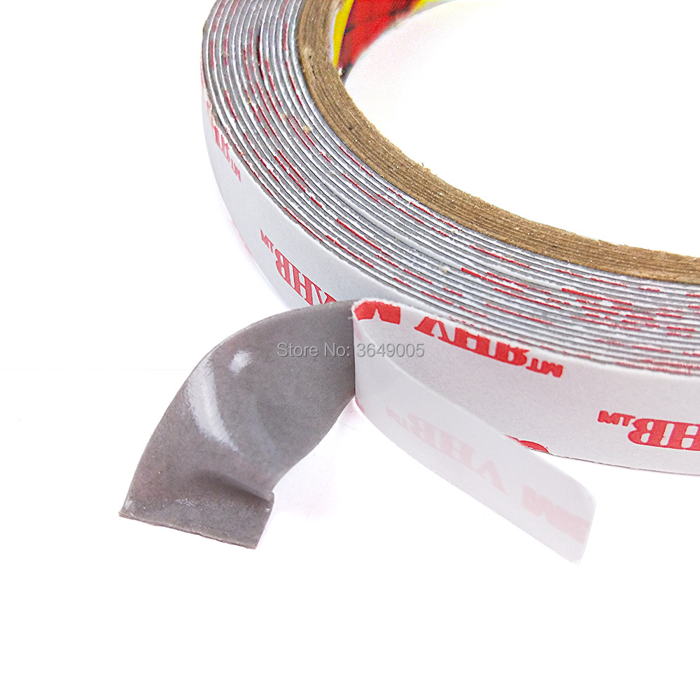 1Roll 8mmx33M Thick 0 6mm 3M VHB Acrylic Foam Tape RP25 High stick gray  foam double side tape
