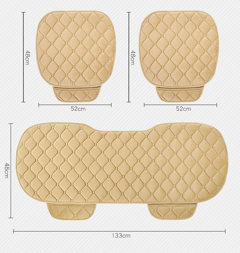 LanLan Simple Comfortable Car Front Non-slip Breathable Car Cushion Tool Accessories