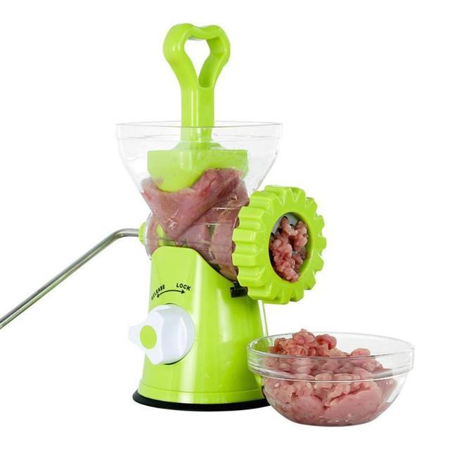 3-In-1 Multifunctional Kitchen Manual Meat Grinder Homemake Sausage Machine Pasta Maker Vegetable Grinder Mincer Kitchen Tool