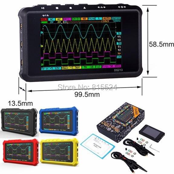 Новое поступление DS213 DSO213 осциллограф обновления от DS203 DSO203