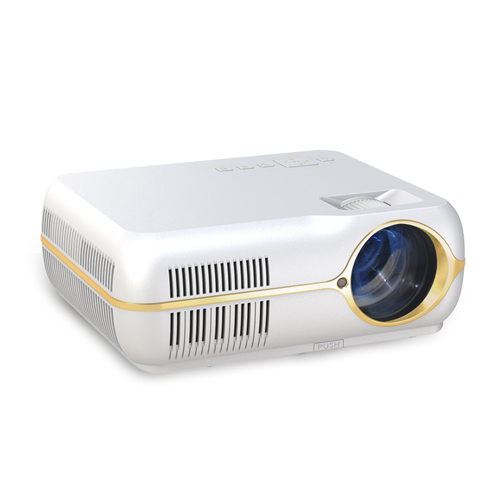 Home Video Projector Draagbare Wifi Home Theater Led Projector Compatibel Voor Android 6.0 Systeem Ondersteuning Full Hd 1080 P