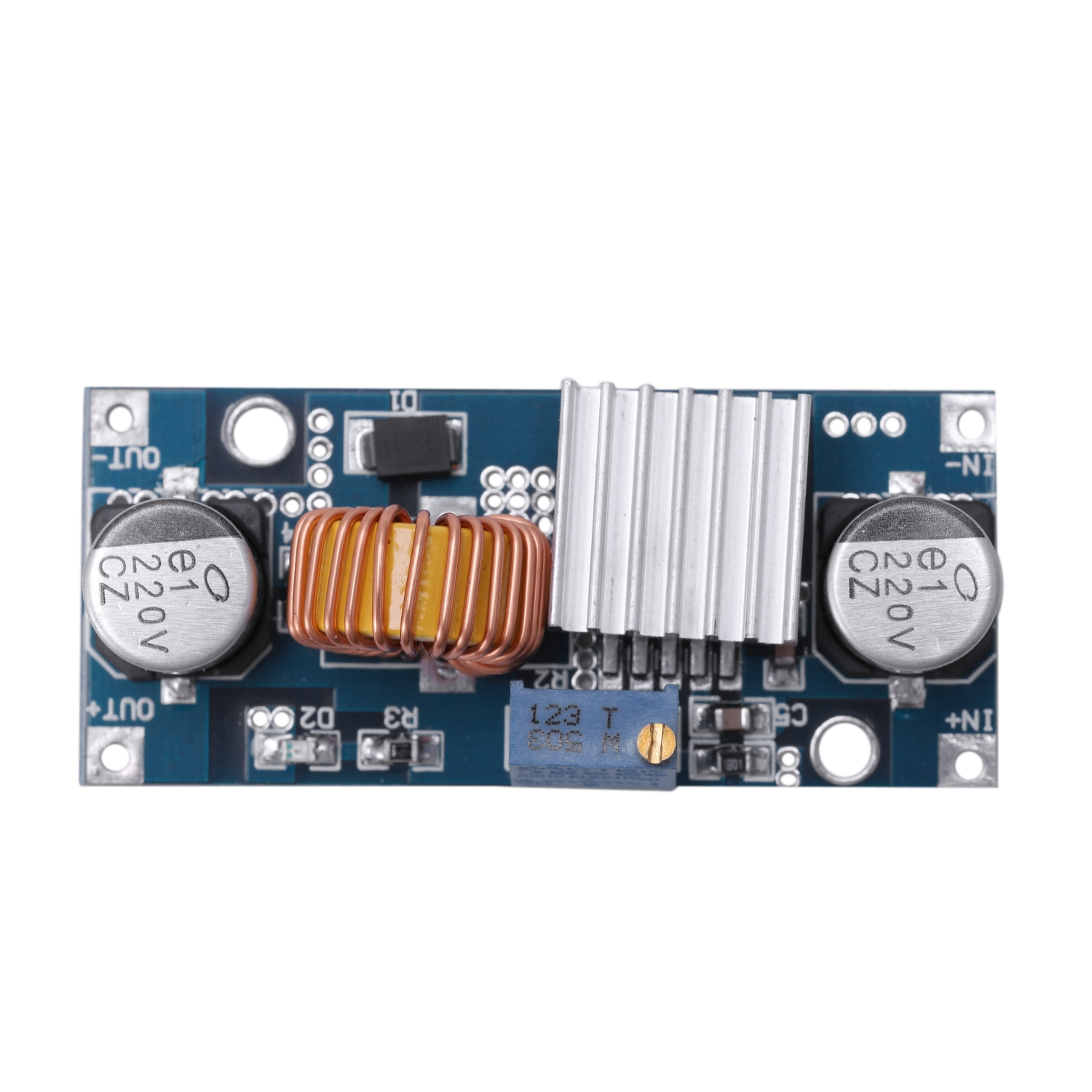 4~38v to 1.25-36v 5a Dc-dc Adjustable Step-down Power Supply Module// Step Down Module