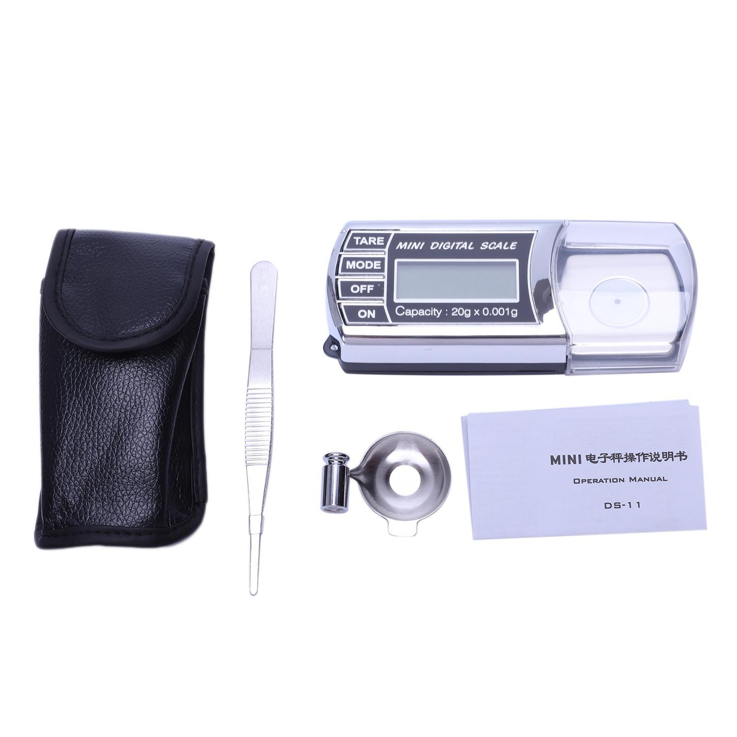 Lipstick Scale Electronic Scale 20G/0.001G Electronic Jewelry Called Carat Scale|Bathroom Scales| |  - title=