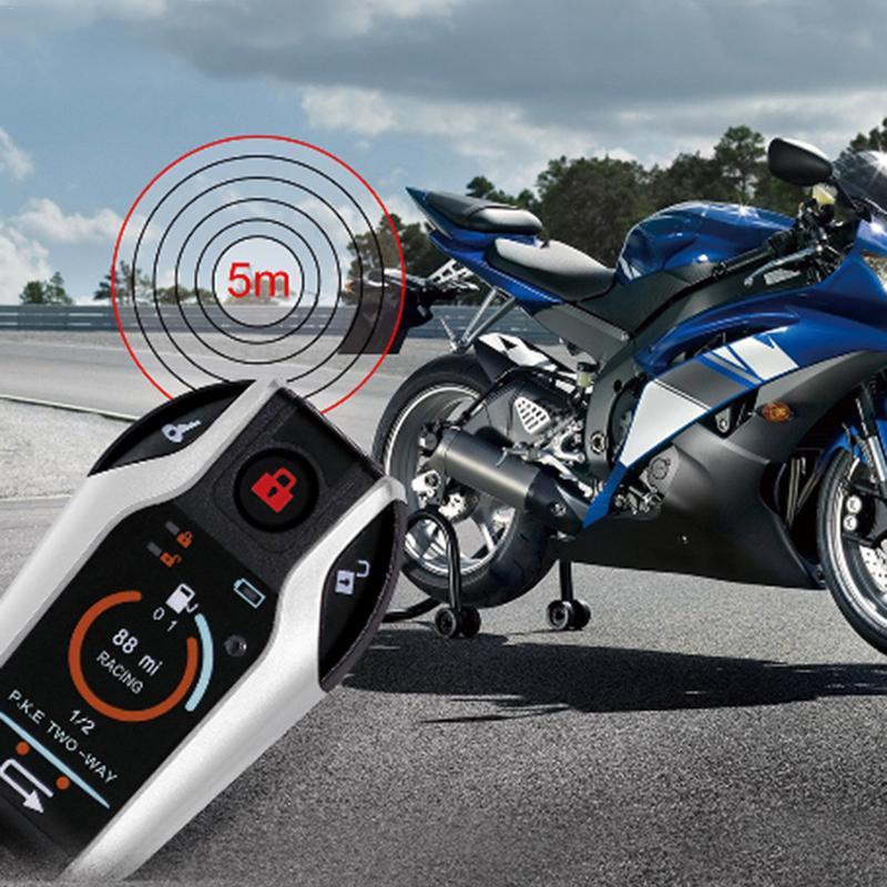 Alarme de voiture télécommande démarreur moteur automobile dispositifs de sécurité pour moto Anti-vol dispositif alarme à distance démarrage arrêt