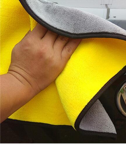 2019 tissu de nettoyage de voiture en Fiber de Polyester en peluche épaisse pour volvo xc90 ford focus mk2 toyota rav4 skoda fabia passat b5