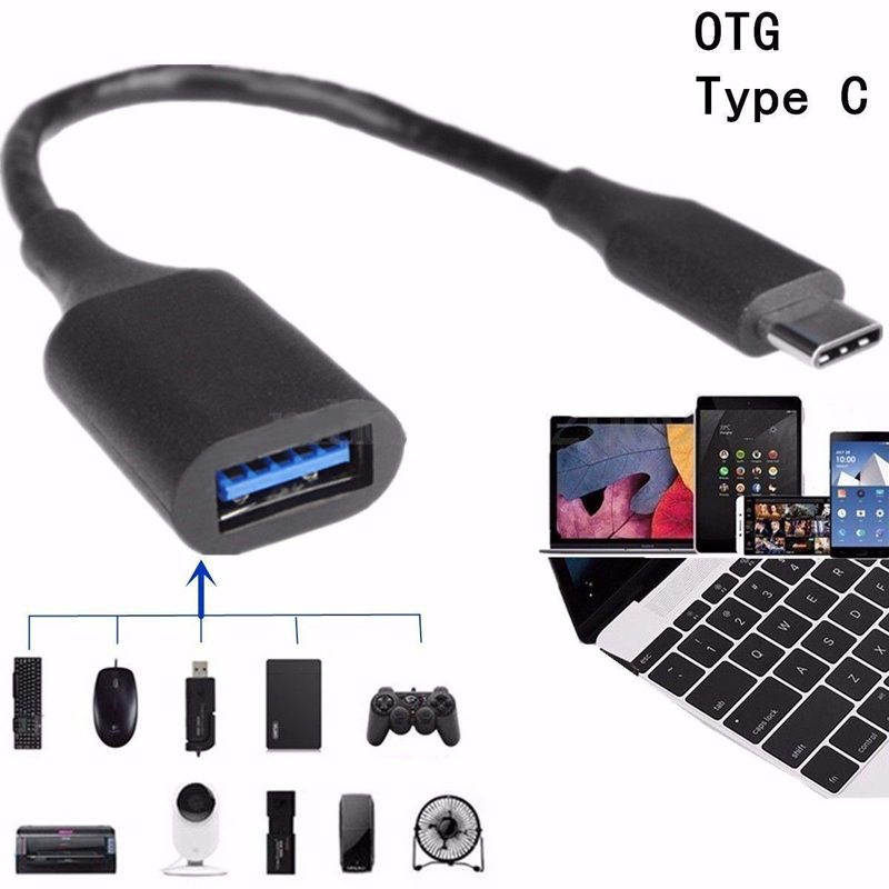 USB C Adapter OTG Cable Type C To USB 3.0 USB 2.0 Thunderbolt 3 OTG Type-C Adapter For Samsung One Plus For MacBook USBC OTG