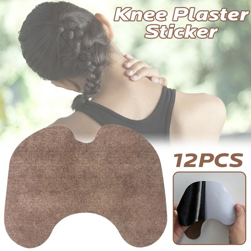 12 Pcs/set Self-heating Warm Moxibustion Stickers Neck Plaster Shoulder Rheumatism Joint Knee Pain Relief Chinese Herbal Hot
