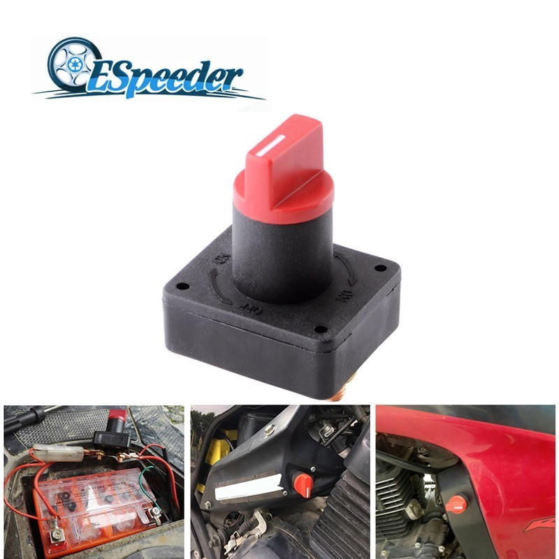100A BATTERY MASTER KILL SWITCH ISOLATOR DISCONNECT CUT OFF CAR BOAT