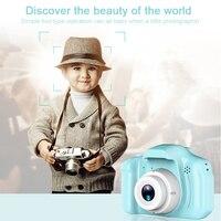 Детская Мини Милая цифровая камера игрушка камера 2,0 дюймов сфотографировать 1080 P Vedio детские игрушки видеокамера
