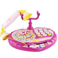 Children's Educational Early Learning Learning Machine Play House Cartoon Princess Phone Light Emitting Sound Toy
