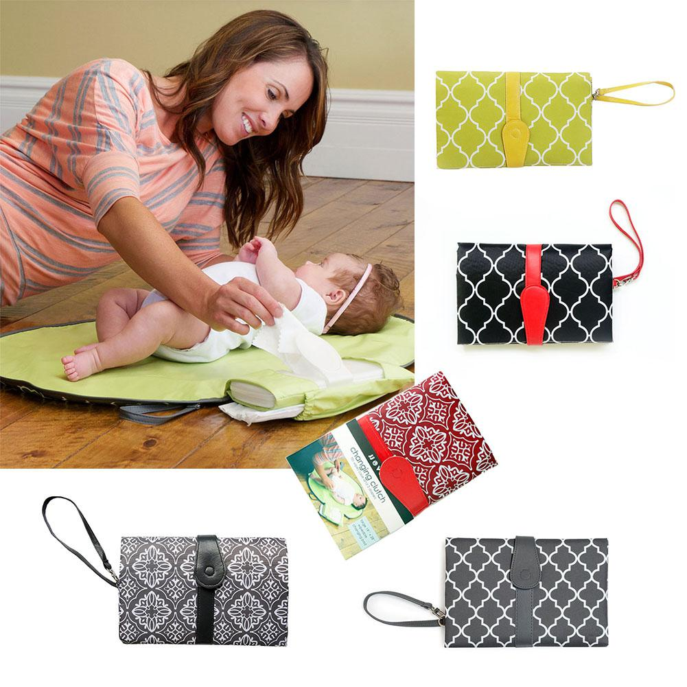 Kidlove Multi-Function Diaper Pad Portable Foldable Waterproof Urine Mattress For Baby