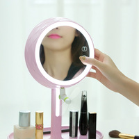 Dream Makeup The Mirror Type Led Lamp Electrodeless Dimming Dressing Mirror Use Light Mirror Bring Accept Bedside Night light