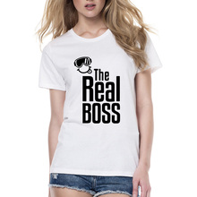 The Boss and Real Boss Couple T-Shirt