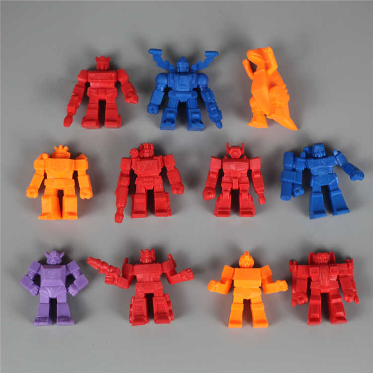 New Die Cast Super7motu Muscle Garbage Series Transformers Restore Ancient Ways Collection Tide Children's Toys Color Random