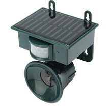 Promotion! Ultrasonic PIR Outdoor Solar Animal Bird Dog Fox Repeller Repellent Scarer