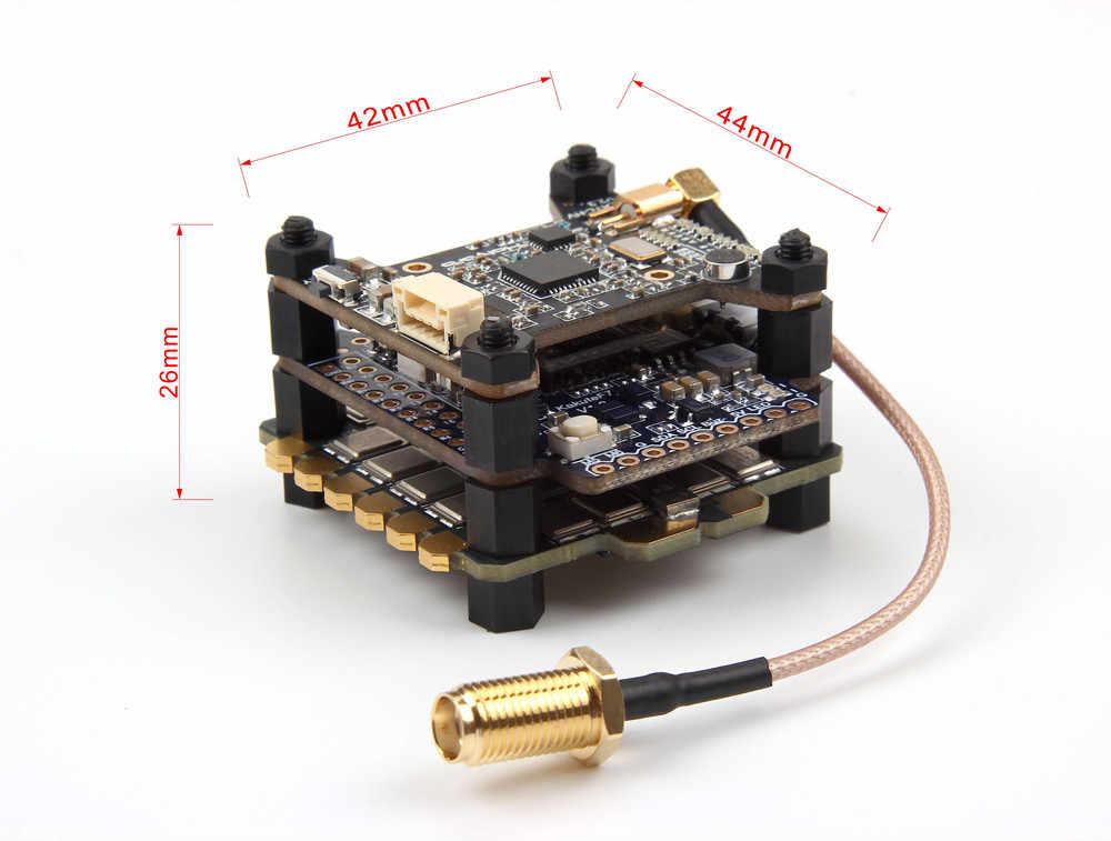 Nova Chegada Holybro Kakute F7 Controlador de Vôo & Atlalt HV V2 40CH VTX & 65A BL_32 Tekko32 F3 Metal 4in1 combinação ESC Para RC Modelo