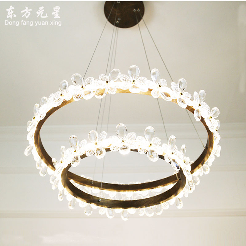 LED crysta light chandelier lamp with remote control living room bedroom indoor lighting  fixture decorationLED crysta light chandelier lamp with remote control living room bedroom indoor lighting  fixture decoration