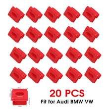20 Pcs רכב אוטומטי פנים פנל לוח המחוונים דאש לוח תיקון אבזמי אטב קליפ קבוע מהדק הכנס לולאות עבור BMW E46 e65 E66