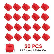 20 stuks Auto Auto Interieur Dashboard Dash Board Bevestiging Gespen Sluiting Clip Vaste Klem Insert Grommets Voor BMW E46 e65 E66