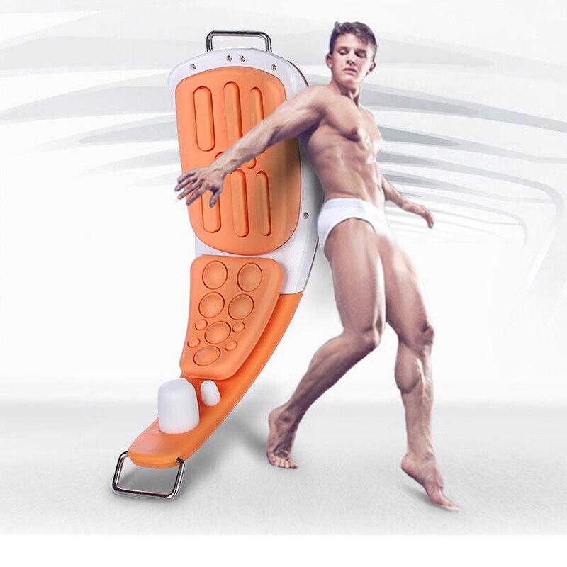 Ultrasound Magnetic Penis Trainer Male Penis Erectile Enlarger Sex Penis Extender Vibrator Testis Stimulator Massager Medical Th