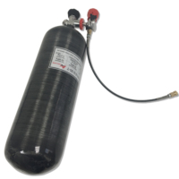 ACECARE cylinder pcp air hpa tank 4500psi paintball equipment carbon fiber cylinder black m18*1.5 for hunting AC309301