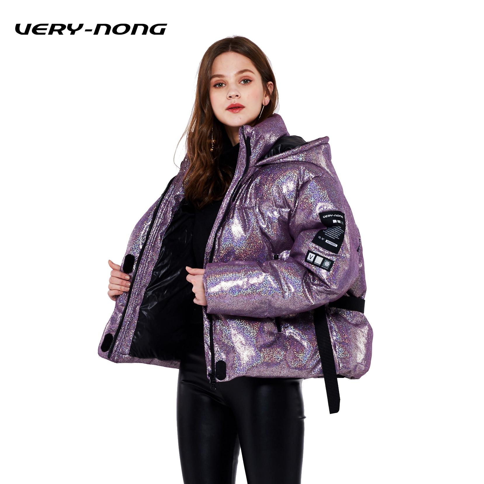 ceinture Épais Doudoune nong Very De Section Blanc Chaud Mode Pourpre 2018 Femmes Couture Brillant 90Canard OPkiXTwZu