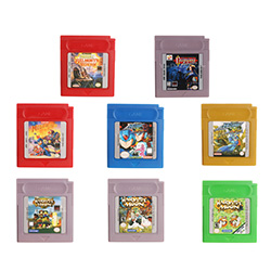 16 Bit Handheld Console Video Game Cartridge Card Harvest Moon/Castlevania Series English Language Version image