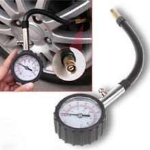 Medidor de manómetro de aire para neumáticos de coche y bicicleta, medidor de presión de neumáticos de 0 a 100 PSI, sistema de monitoreo para vehículos