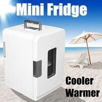 12 В 15L путешествия автомобильный холодильник портативный охладитель теплее кемпинг мини Электрический Холодильник Напитки Охладитель Дер