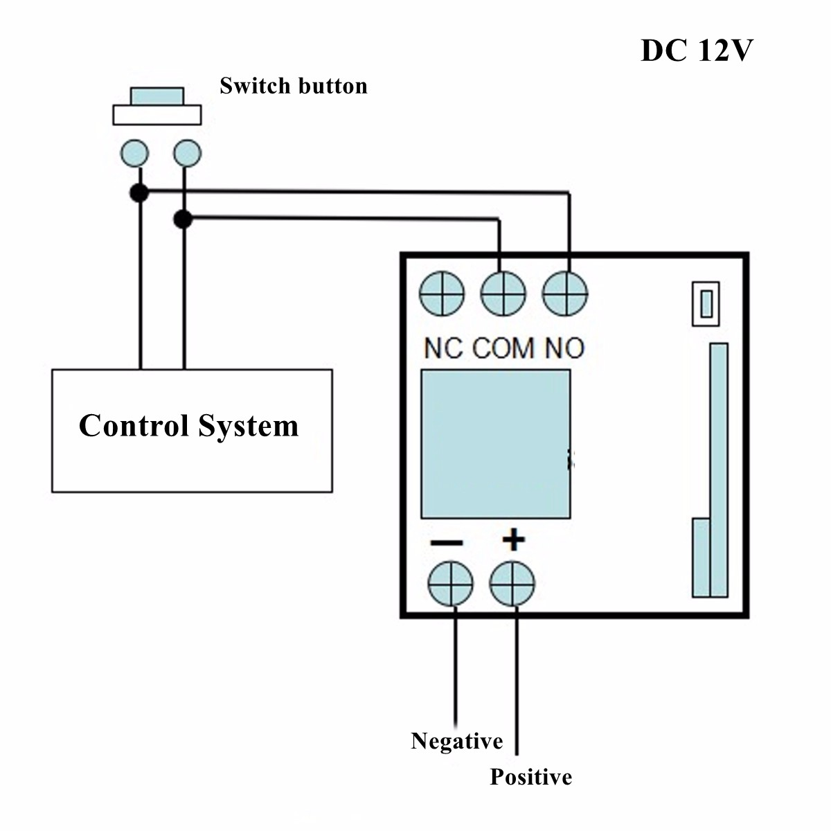 DC12V 10A Relé 1 CH inalámbrico RF Control remoto transmisor con receptor control remoto 315 mhz