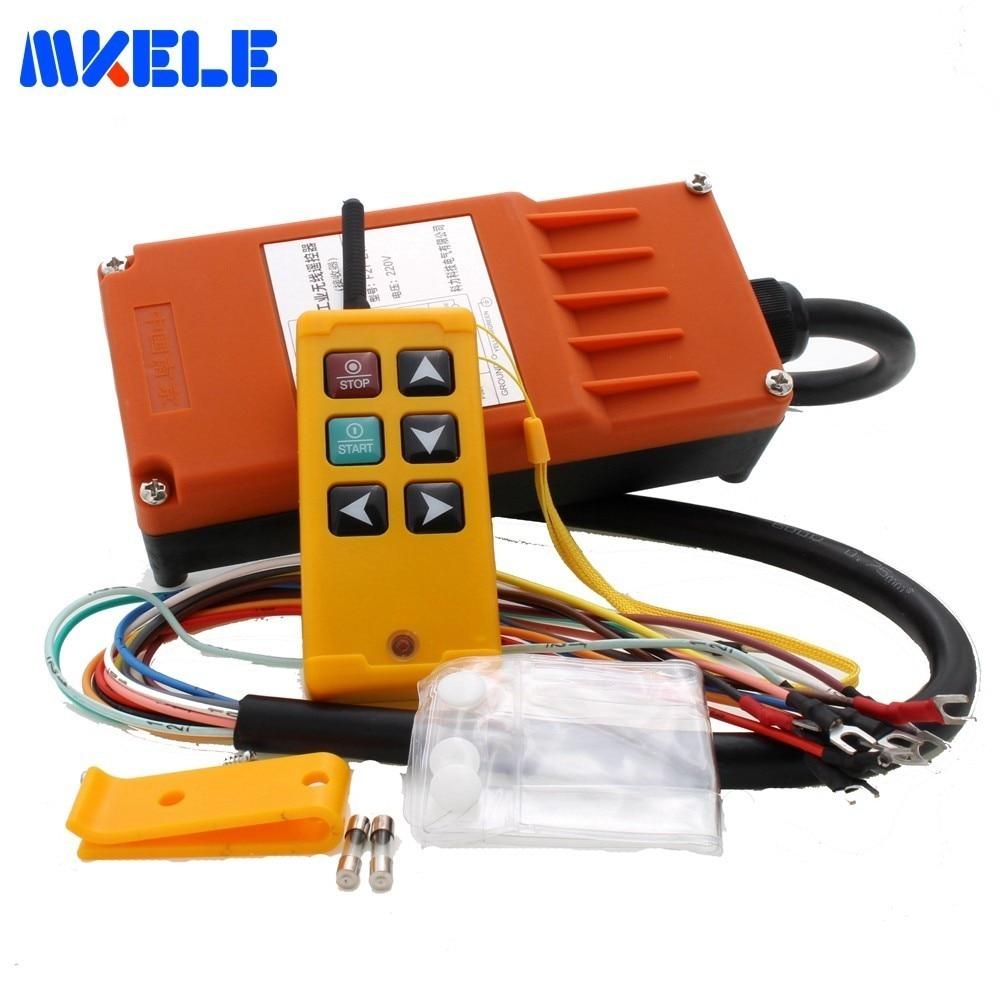 Makerele MKLTS 6 6 Keys Control Industrial Remote Controller Hoist Crane Control Lift Crane 1 Transmitter