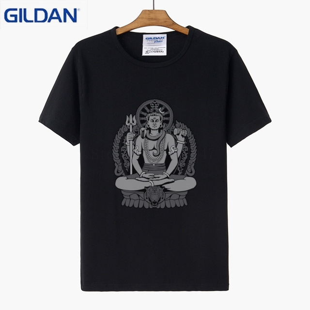 Awesome T Shirts Designs | Lord Shiva T Shirt Designs Family Men T Shirt Basic Solid Nice