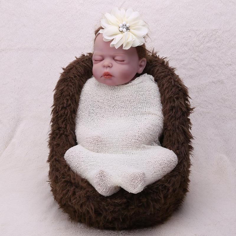 1pc Ewborn Baby Infant Wrap Knit Towel Baby Photography Props Wraps Cloth Gauze Baby Bedding