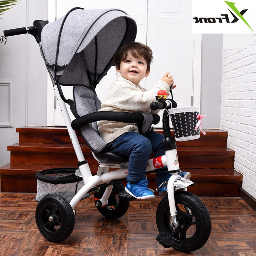 New Brand 1-6 Years Child Tricycle High Quality Swivel Seat Child Tricycle Bicycle Baby Buggy Stroller Bmx Baby Car BikeNew Brand 1-6 Years Child Tricycle High Quality Swivel Seat Child Tricycle Bicycle Baby Buggy Stroller Bmx Baby Car Bike