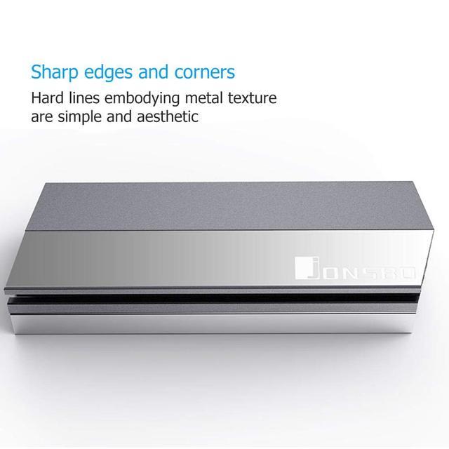 Jonsbo M.2 Ssd Aluminum Heatsink Cooler For M.2 2280 Solid State Hard Disk Radiator 4