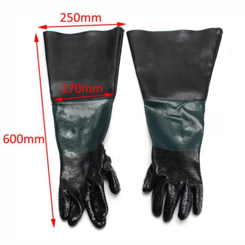 1 paire de 24 gants de Protection du travail pour le sablage1 paire de 24 gants de Protection du travail pour le sablage