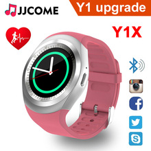 Y1X Smart Watch Men Y1 Upgrade Sim Card TF Heart Rate Sleep Call Sport Band Fitness Tracker Wristband PK Q90 Q9 Q8 A1 Smartwatch ni5 g12 y1x y1
