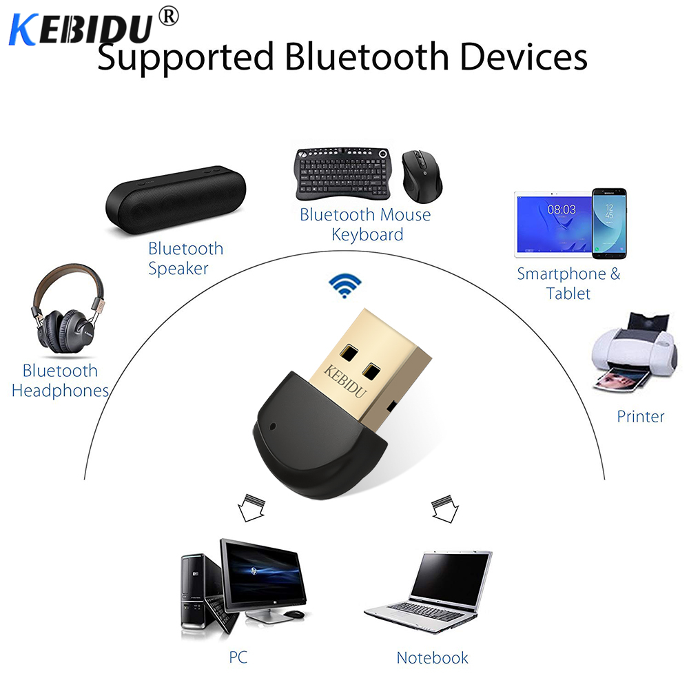 Tragbares Audio & Video Dynamisch Kebidu Wireless Usb Bluetooth Adapter 5,0 Bluetooth Dongle Musik Sound Empfänger Adaptador Für Computer Pc Laptop Musik Empfänger