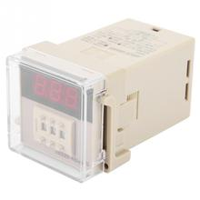 JSS20 48AMS Power On Delay Timer Relay Digital Display 1 999S AC 220V 2019 new style Relays
