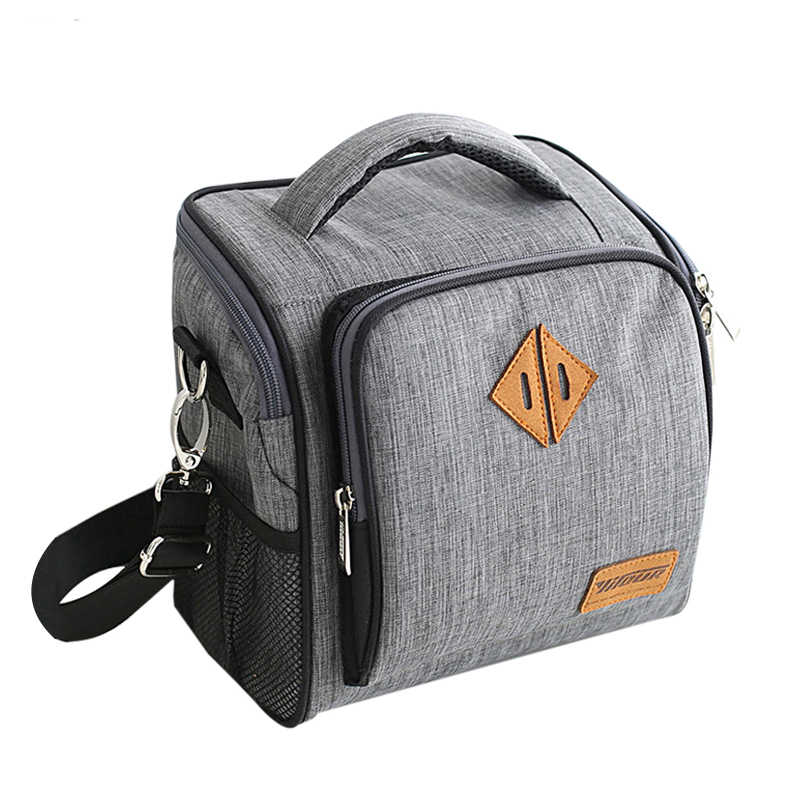 Insulated Lunch Bag Portable Picnic Cooler Pouch Bottle Thermal Thermo Bento Cubes Organizer Ice Package Supply Gear Accessories