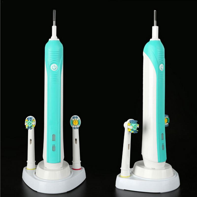 Electric Toothbrush Base Stand Support Brush Head Holder For Braun Oral B Electric Toothbrushes image