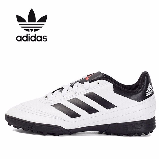 3ed03dc39e US $121.0 |Adidas Kids 2018 New Pattern TF Breathable Gym Shoes Catamite  Children Football Shoe Aq4305-in Sneakers from Mother & Kids on ...