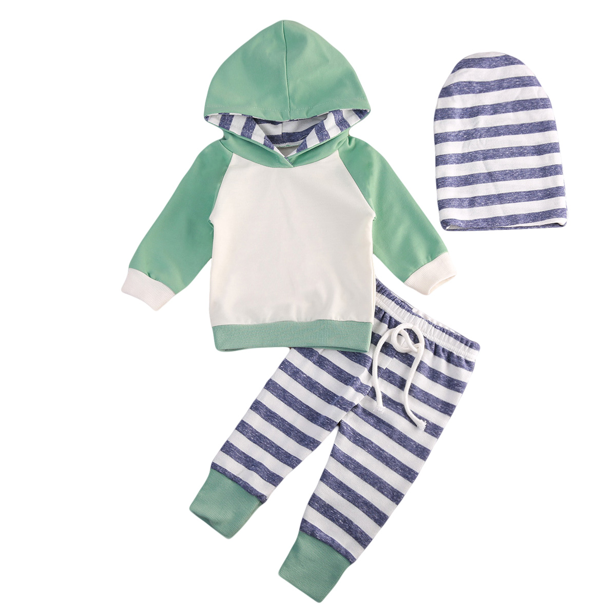 Autumn Cute Tracksuit Infant Toddler Baby Boy Girl Clothes