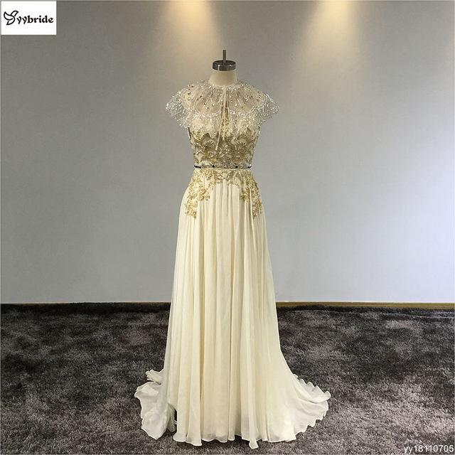 Vintage Spaghetti Strap Beaded Dress