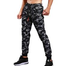 2018 New Mens Joggers Sweatpants Gyms Camouflage Pants Fitness Men Crossfit Spor