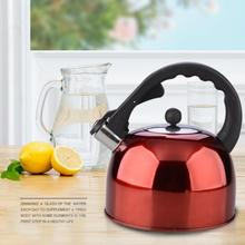 3L Stainless Steel Chaleira Whistling Tea Bottle Kettle For Gas Stove Bouilloire Kitchen Water Coffee Heat Boiler Pot Whistle