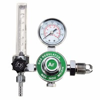 Durable ARGON CO2 GAS MIG TIG FLOW METER WELDING WELD REGULATOR GAUGE FOR WELDER CGA580 FITS