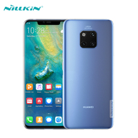 For Huawei Mate 20 Pro Case Cover NILLKIN Ultra Slim Clear Soft Silicone Phone Cases For Mate 20 Pro Back Covers Nature Series